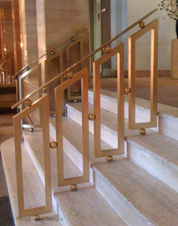 Custom Ball Rail. Interior Railings