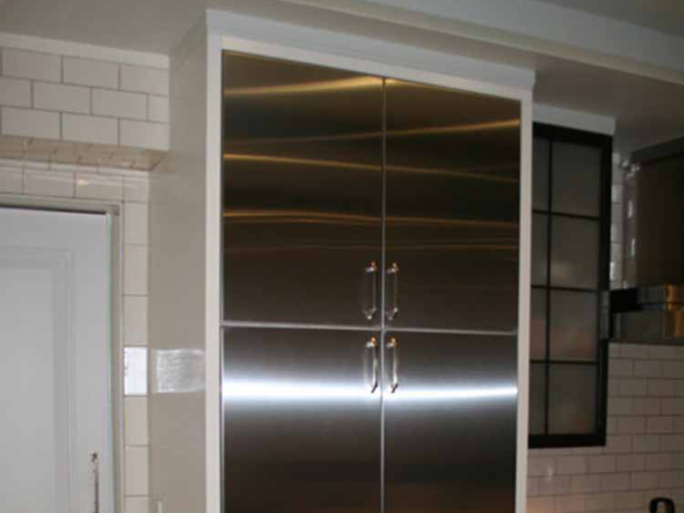 custom stainless steel cabinet doors custom stainless