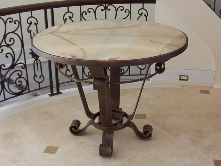 custom_steel_foyer_table_sra