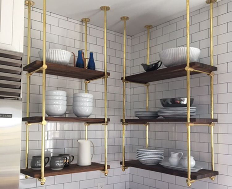AR Custom Kitchen Rack